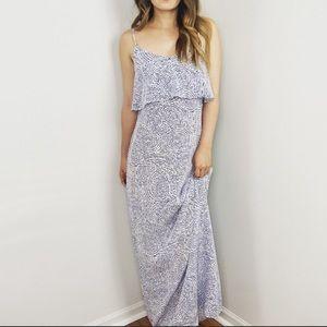 Intermix Silk Maxi Dress